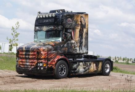 001. J. Davis (truck)